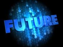在数字式背景的未来。 免版税图库摄影
