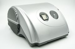 在文件白色背景的雾化器医疗设备与裁减路线的 免版税图库摄影