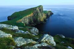在斯凯岛theIsle的点Neist  苏格兰 免版税库存照片