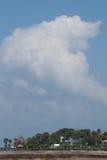 在斯图尔特佛罗里达的口岸萨莱诺 库存照片