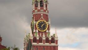 在斯帕斯基塔的克里姆林宫编钟 红场 影视素材