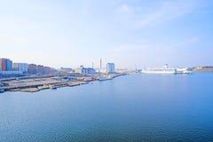 在斯德哥尔摩附近的波罗的海 库存图片