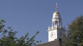 在斯特拉福城镇厅大厦的圆屋顶 股票录像