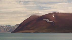 在斯瓦尔巴特群岛视图附近 免版税库存照片