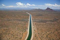 在斯科茨代尔,亚利桑那附近的中央亚利桑那项目 库存图片