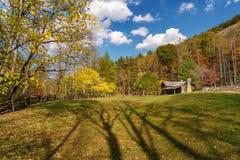 在斯通山的秋天 图库摄影
