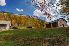 在斯通山的秋天 免版税图库摄影