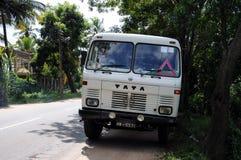 在斯里兰卡的海岛上的印地安汽车`陶陶` 免版税库存图片