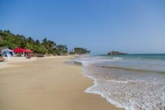 在斯里兰卡的Mirissa海滩 库存图片