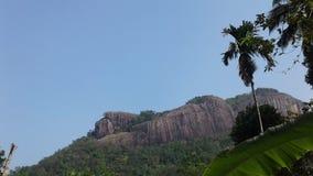 在斯里兰卡Maniyangama的maniyangama的Maowntan 库存照片