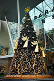 在新加坡果树园罗阿的圣诞节装饰 免版税库存图片