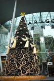 在新加坡果树园罗阿的圣诞节装饰 免版税图库摄影