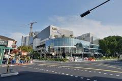 在新加坡- Katong附近的场面 库存照片