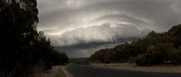 在新南威尔斯澳洲内地的风暴  库存图片