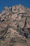 在新墨西哥关闭的器官山 库存图片