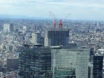 在新宿上,东京 免版税库存照片