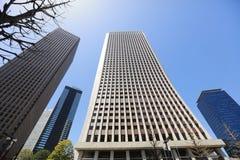 在新宿,东京,日本的大厦2016年 免版税图库摄影