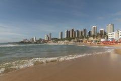 在新生的中间海滩-都市海滩 免版税库存照片