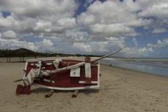在新生, RN,巴西的Genipabu沙丘 免版税库存图片