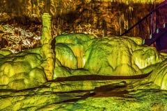 在新的Afon洞的异常的形式 阿布哈兹 库存照片