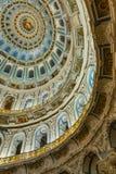 在新耶路撒冷修道院的复活大教堂里面, Istra,俄罗斯 图库摄影