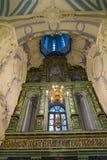 在新耶路撒冷修道院的复活大教堂里面, Istra,俄罗斯 库存图片