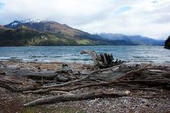 在新西兰附近的Roadtrip 免版税图库摄影