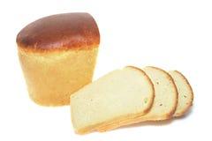 在新鲜上添面包 图库摄影