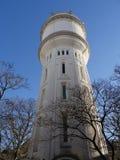 在方形的克劳德Charpentier,蒙马特,巴黎的水塔 库存照片
