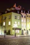 在方形的城堡的有启发性连栋房屋 图库摄影