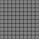 在方形的瓦片无缝的样式的正方形 库存照片