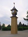 在方形的Efremov的钟楼在城市Vyazma 库存图片
