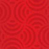 在方格的背景的红色转动的弧 免版税图库摄影