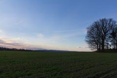 在施万多尔夫旁边的Hasenbuckl 图库摄影
