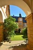 在施洛斯塞霍夫城堡塞霍夫的看法在琥珀,德国附近 库存图片