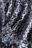 在无缝的布料的花卉模式 花束明亮的花照片向量 织品 免版税库存图片