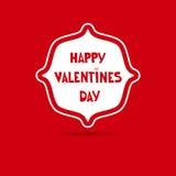 在无缝的心脏样式的动画片信件 爱问候或邀请卡片设计 免版税库存图片