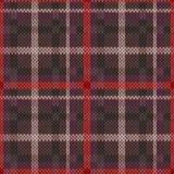 在无言颜色的编织的无缝的样式 免版税库存图片