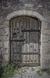 在无头甘蓝堡垒的门道入口在Lerapetra 库存照片