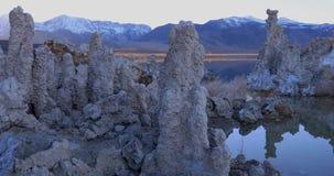 在日出的单音湖凝灰岩 股票录像