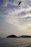 在日出的天空背景 构成设计要素本质天堂 免版税库存照片