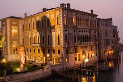 在日出的威尼斯式艺术 库存图片