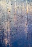 在日出的打旋的窗口作为背景 库存图片