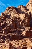 在日出的摩西山 免版税库存照片