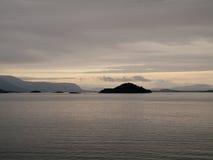 在日出的巴塔哥尼亚 免版税图库摄影