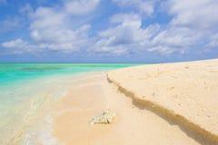 在日本的美丽的海滩 免版税库存照片