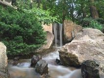 在日本Gargens的瀑布 免版税库存图片
