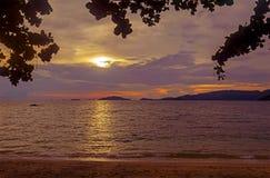 在日落之前 图库摄影