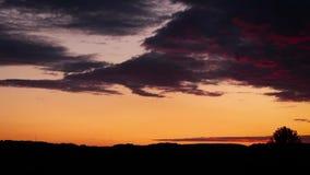 在日落以后的风景 E 影视素材
