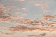 在日落前的天空在泰国 库存图片